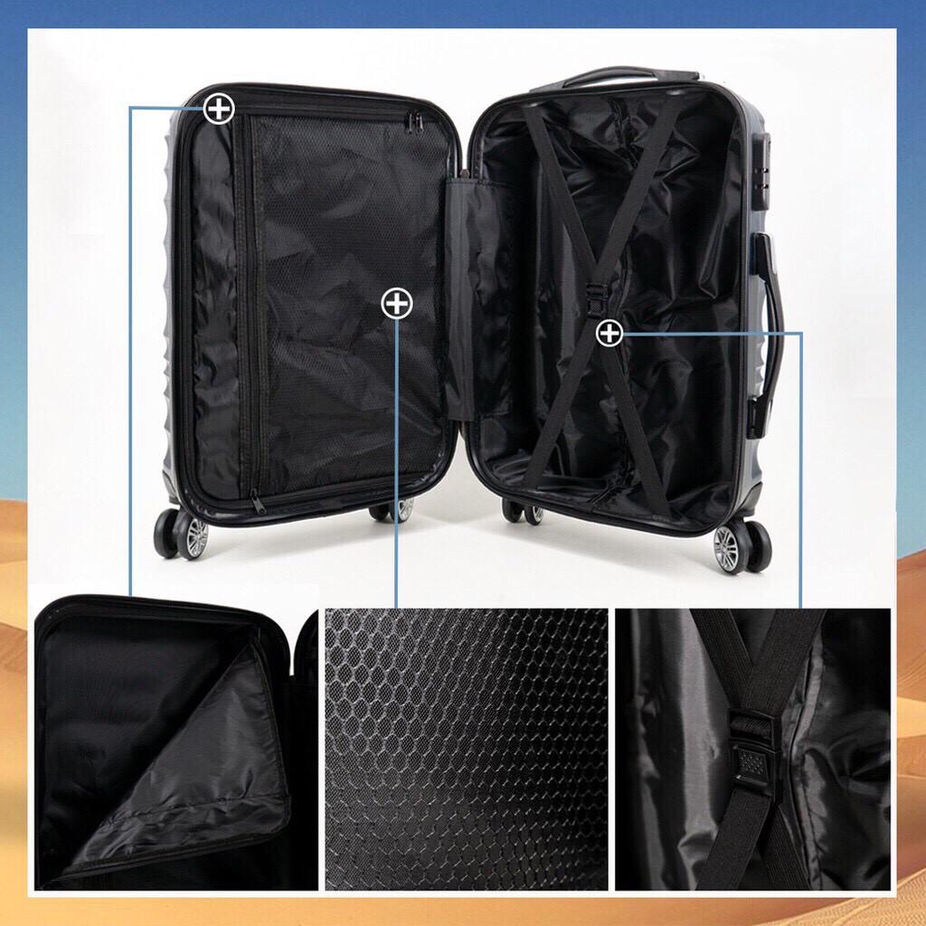 กระเป๋าล้อลาก กระเป๋าลาก กระเป๋าเดินทางล้อลาก กระเป๋าเดินทาง  กระเป๋าลาก กระเป๋าเดินทางล้อคู่ แข็งแรง ยืดหยุ่นสูง น้ำหนั