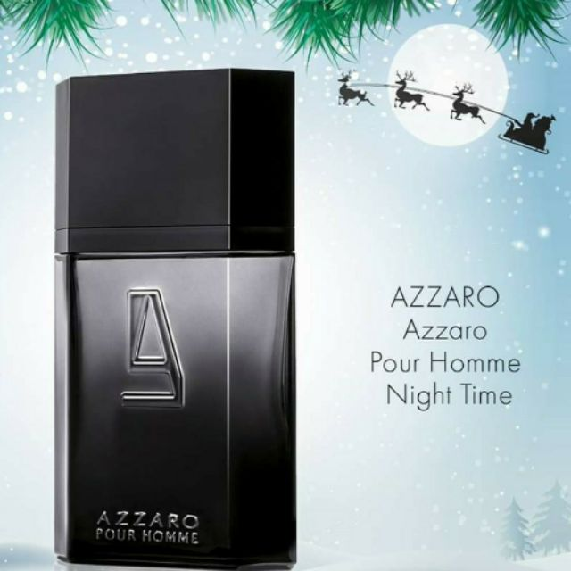 Rare🇫🇷 Azzaro pour Homme Night Time  EDT Spray 100ml new unbox