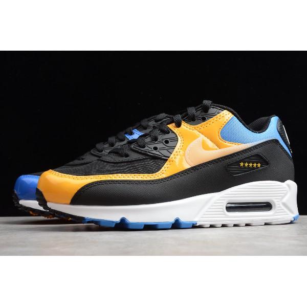 ราคาถูกNike Air Max 90 Shanghai City Pack Men's comfortable casual sports shoes fashion all-match running shoes CT9140-0