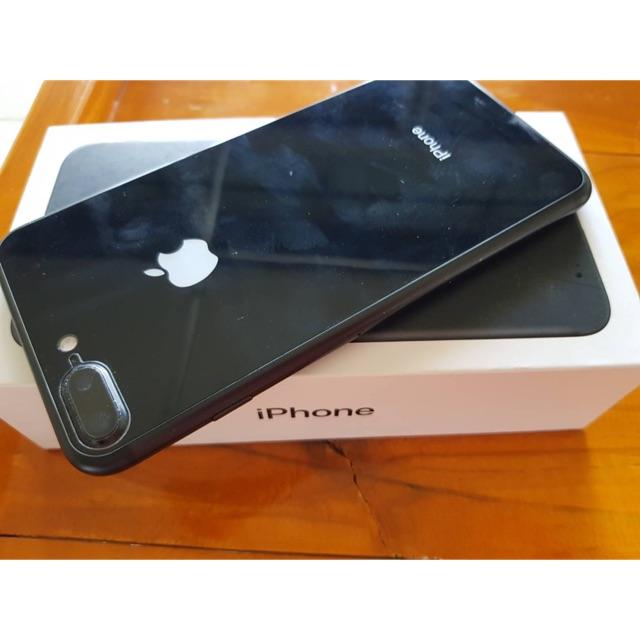 มือถือมือสองIphone7plus 128g มีกล่อง เครื่องศูนย์ไทย 100%