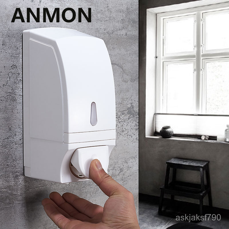 ที่กดน้ำยาล้างจาน★โฟมตู้ทำสบู่ติดผนังความจุขนาดใหญ่บ้านหมัดฟรีห้องน้ำห้องครัวอ่างล้างหน้ากับ洗手液盒