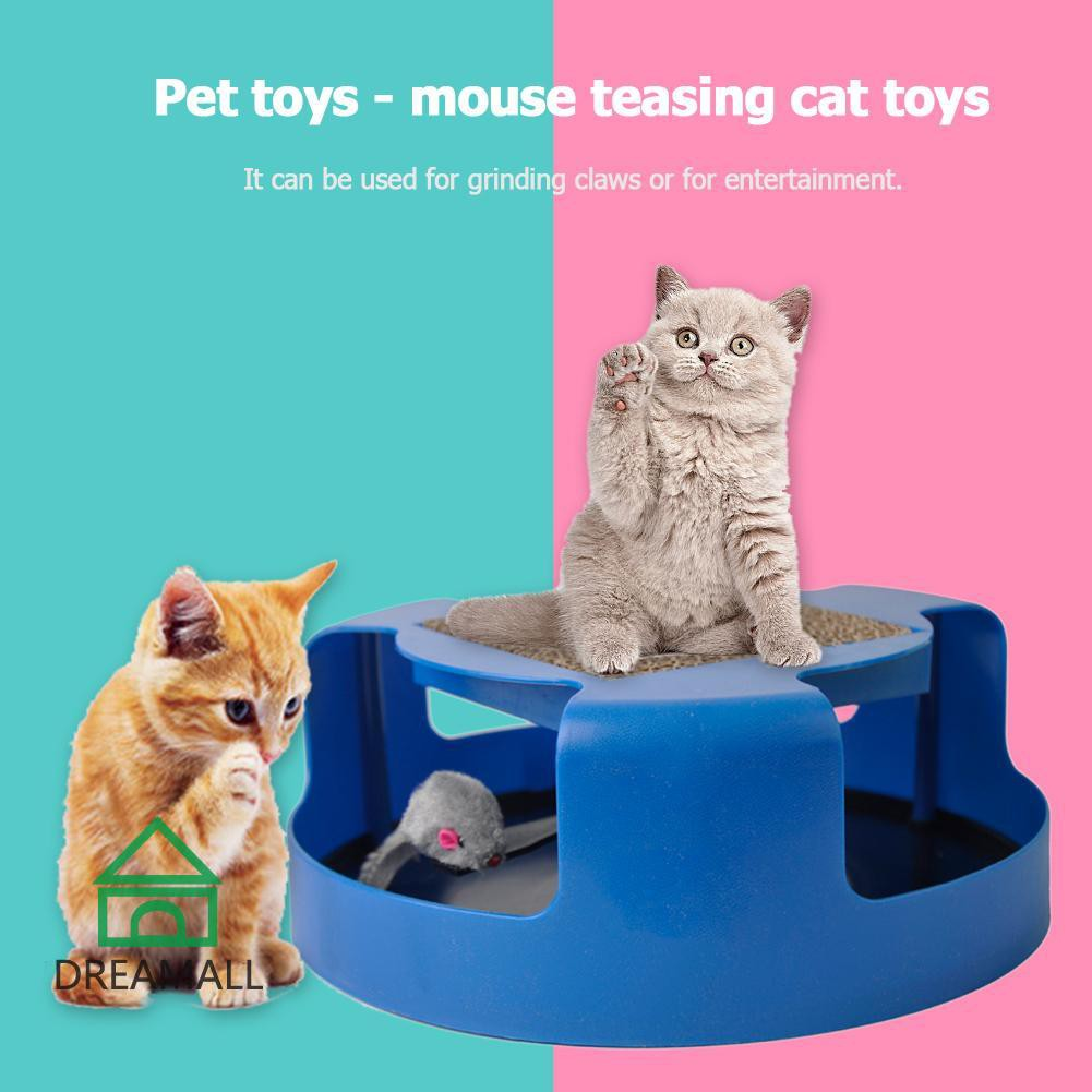 Hot Funny 35/'/' Kitten Cat Wire Fun Chaser Toy Teaser Bell Beads Pet Wand