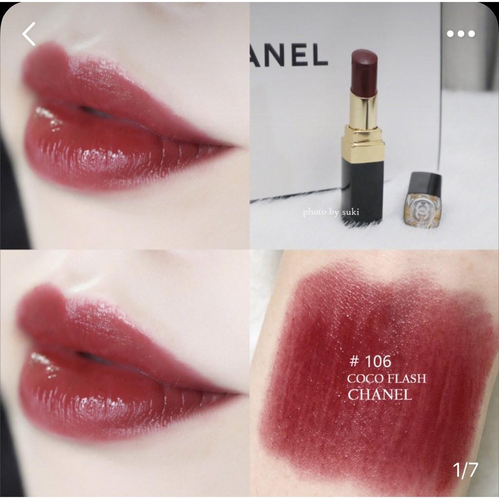 Coco Chanel Lip 106 Color Dominant Flash Rouge พร้อมส่ง