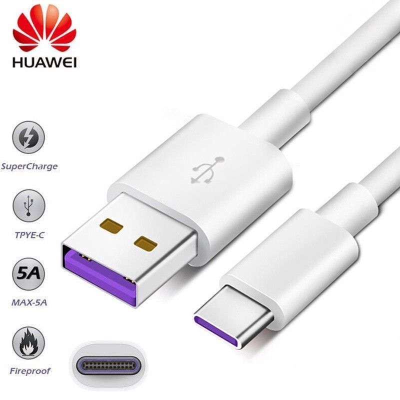 Huawei 5A Fast Charging Type C USB-C Sync Charger Cable For Android Universal model