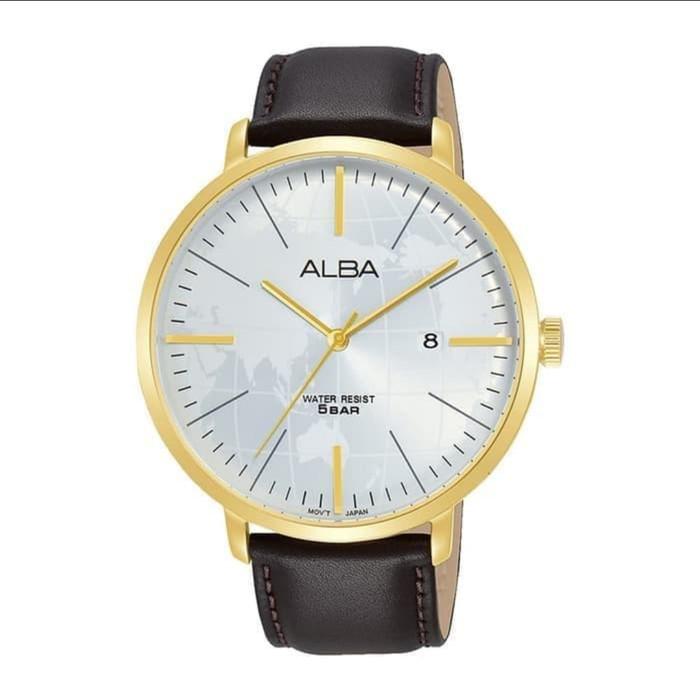 Alba นาฬิกาข้อมือ As9j88 As9j88x1 สําหรับผู้ชาย 1 ปี