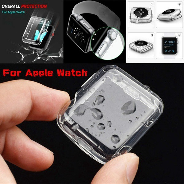 For IWatch Transparent TPU Soft Protection Case Iwatch 38 40 42 44 Mm For Apple Watch 1/2/3/4