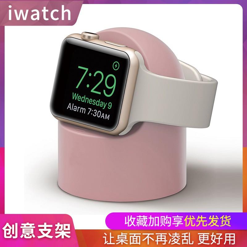 applewatch สายแอปเปิ้ลapplewatchSEเดสก์ท็อปชาร์จขนาดเล็กiwatch1/2/3/4/5/6รุ่นสมาร์ทกีฬานาฬิกา44mm38/40/42series ฐานชาร์จ