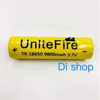 Di Shop ถ่านชาร์จ 18650 UnlteFire 9800mAh 18650 Rechargeable Lithium Li-ion  Battery