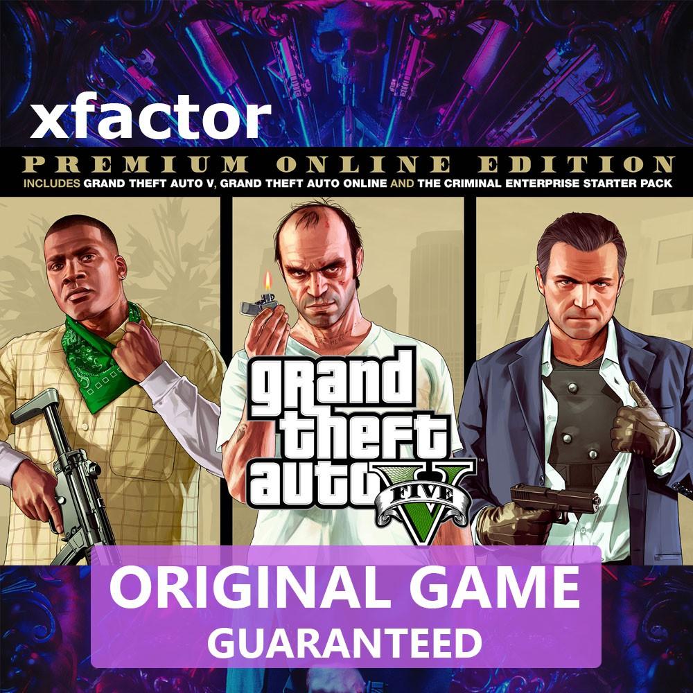[Original] GTA V Grand Theft Auto V GTA 5 Premium Online PC Game