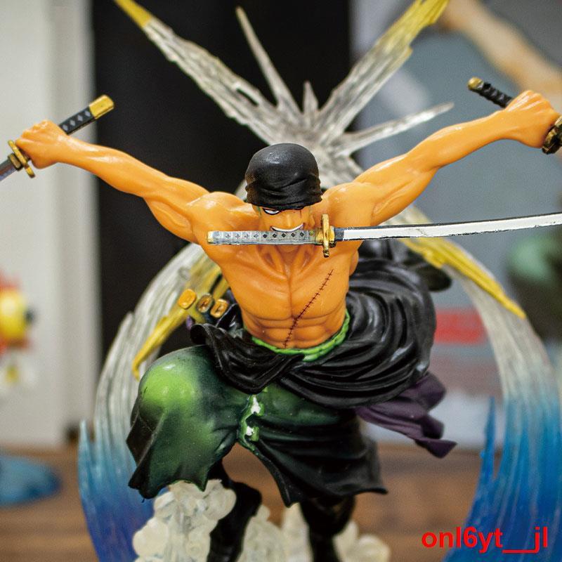 ..ES  Demon Slayer Sauron Three Thousand World Figure Sword Style ZORO Model