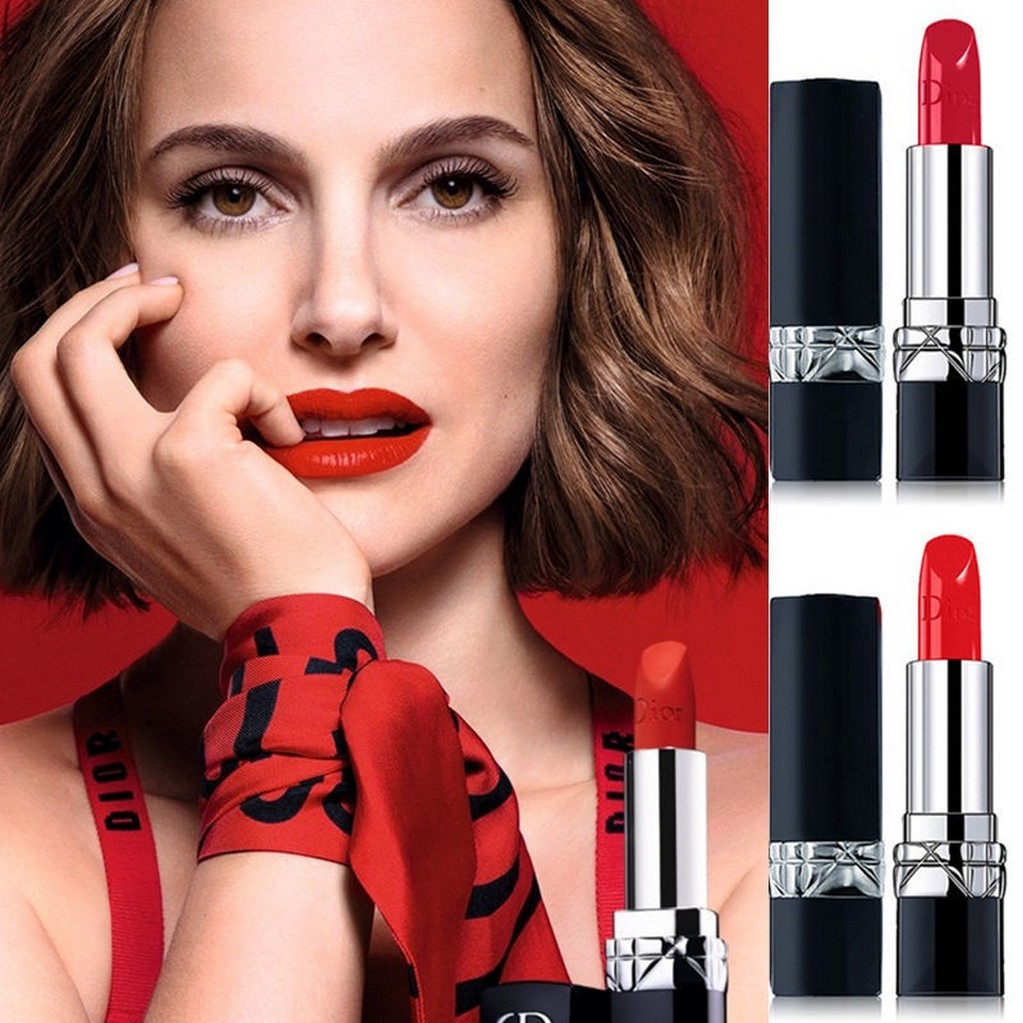 ลิปสติก 999 ROUGE DIOR999 satin Lipstick ลิปสติก Matte 4101