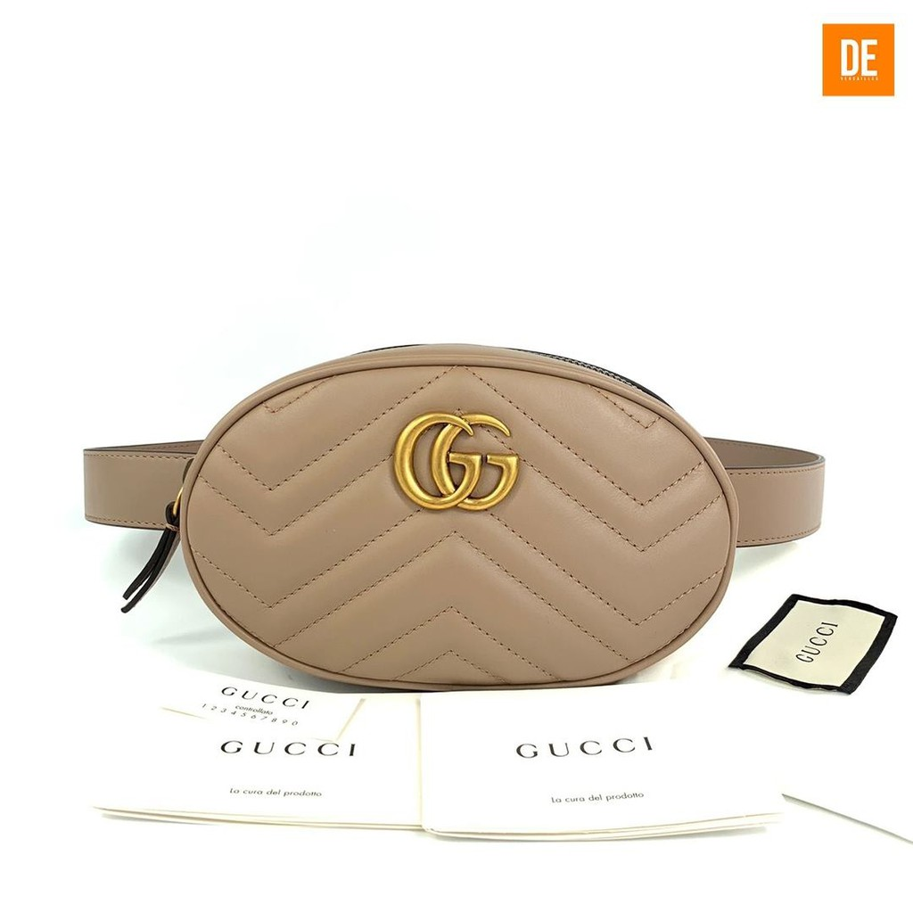 กระเป๋าสะพาย New Gucci Marmont Belt Bag : GN235A