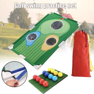 Backyards Golf Cornhole Game Golf Cornhole Game Set Golfing Chipping Net Golf Training Aids Golf Training Equipment