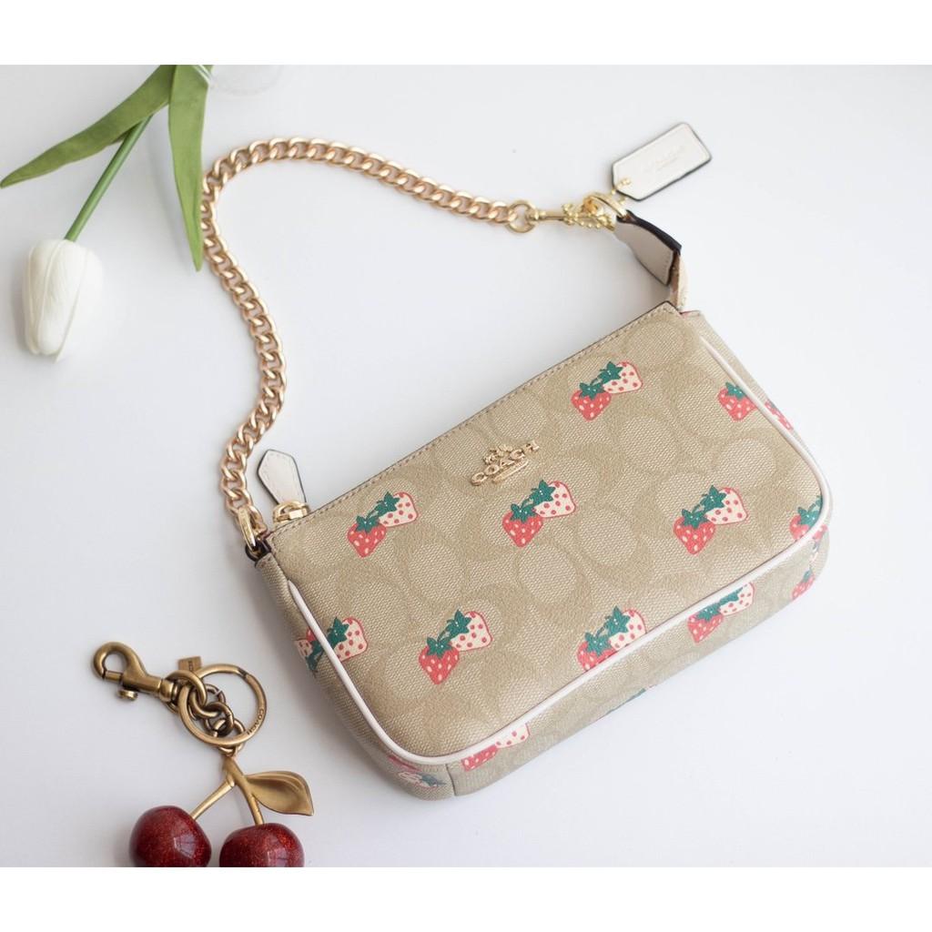 COACH แท้ F691  กระเป๋าสะพายข้าง MessengerBag  กระเป๋าสะพายข้างผู้หญิง