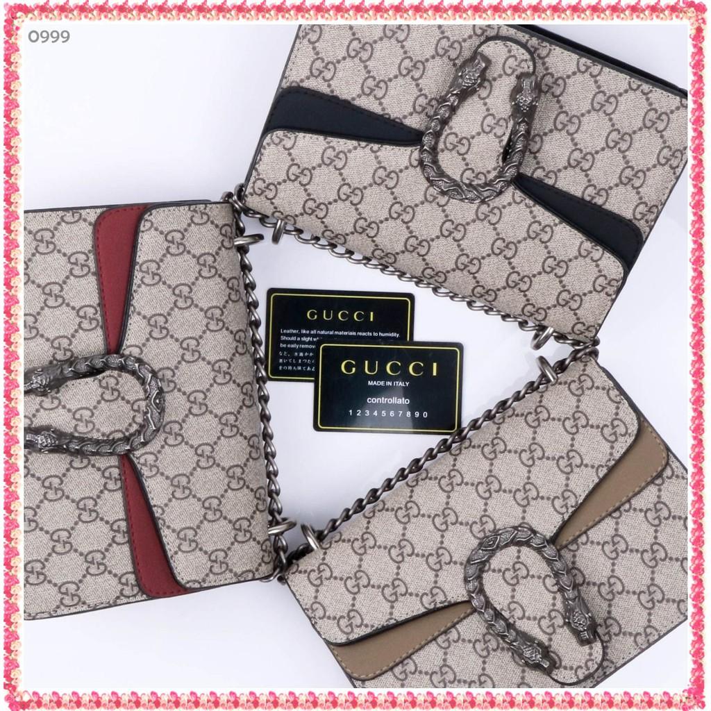 Gucci Dionysus Gg - Md0999 นาฬิกาข้อมือแฟชั่นสําหรับผู้หญิง