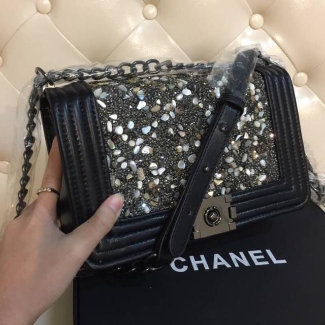 Chanel boyแต่งเพชร