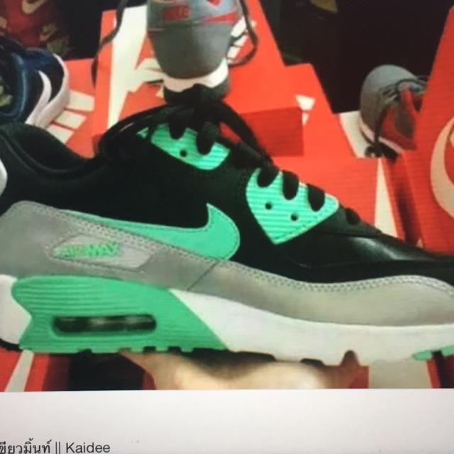Nike air max 90 สีเขียวมิ้นท์ Kaidee