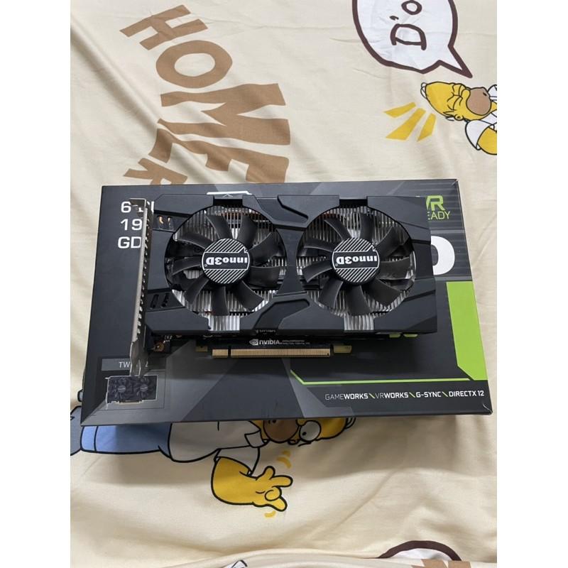 GTX1060 6GB INNO3D มือสอง