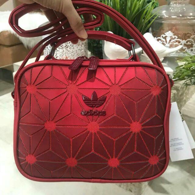 e62e3011707f 👑Adidas Originals 3D Mini Airline👑 (ISSEY MIYAKE Style Shoulder Bag) กระเป๋าสะพาย  อาดิดาส