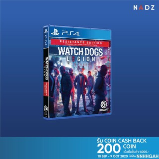 [Pre-Order] PlayStation 4: Watch Dogs Legion Resistance Edition (R3)(EN) **วางจำหน่าย 29 oct 2020**
