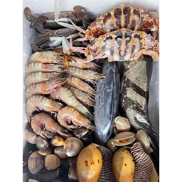 กล่องสุ่มอาหารทะเลราคาโครตเบา499บาท