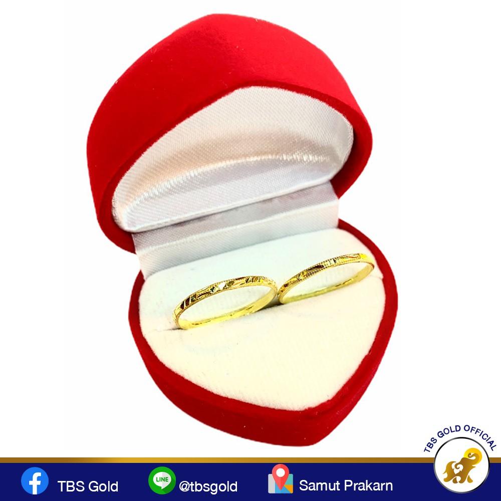 แหวนทองครึ่งสลึง ลายหัวโปร่งรวยวนไป(ลายจีน2) 96.5% น้ำหนัก (1.9 กรัม) ทองแท้ จากเยาวราช น้ำหนักเต็ม ราคาถูกที่สุด ส่งฟร