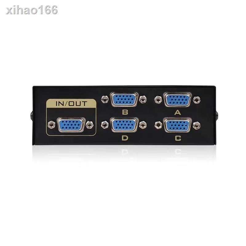 Vga Switcher 2 อินพุต 1 Out หน้าจอมอนิเตอร์คอมพิวเตอร์