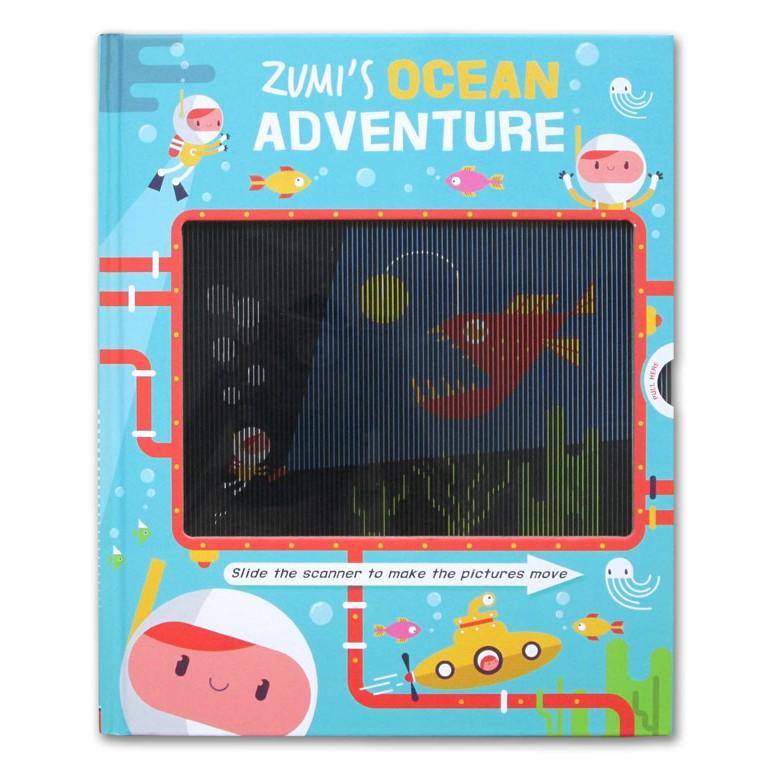 Zumi ' S Ocean Adventure Animated Book (slide The Scanner To Make) หนังสือจําลองของเล่นสําหรับเด็ก