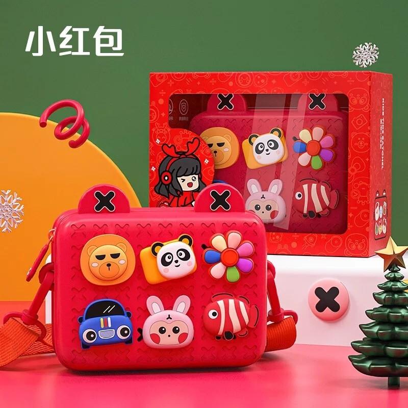 Yun เสี่ยว ของขวัญวันเกิดสาวของขวัญเด็กหญิงกระเป๋า Messenger แฟชั่นชายและหญิงเด็กกระเป๋าเดินทางกระเป๋าเป้สะพายหลังมินิหก