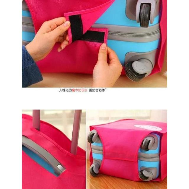 Buh ผ้าคลุมกระเป๋าเดินทาง - ป้องกันกระเป๋าเดินทาง - 24 นิ้ว