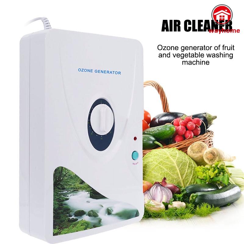 เครื่องฟอกอากาศโอโซนผลไม้ผักเครื่องผลิตโอโซน 600 mg/h