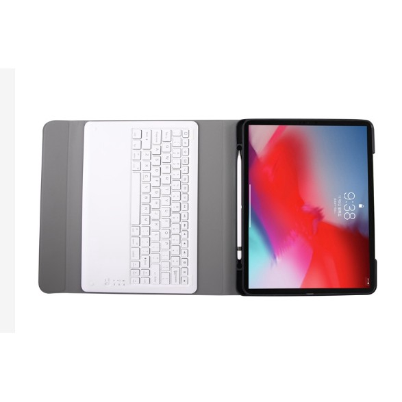 Wireless Bluetooth Keyboard For Apple iPad Mini 1 2 3 Smart PU Leather Cover Case With Pencil Holder 1avY