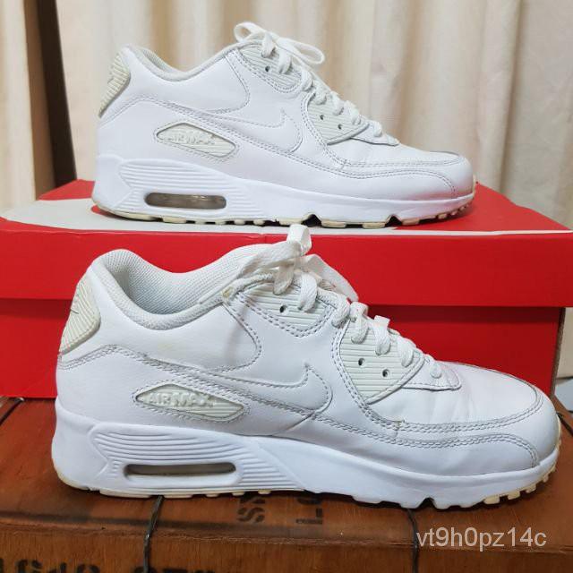 ️️️️ **ของแท้ 100%️**Used like new รองเท้าผ้าใบ Nike Airmax 90 ของแท้ 100% เบอร์ 40