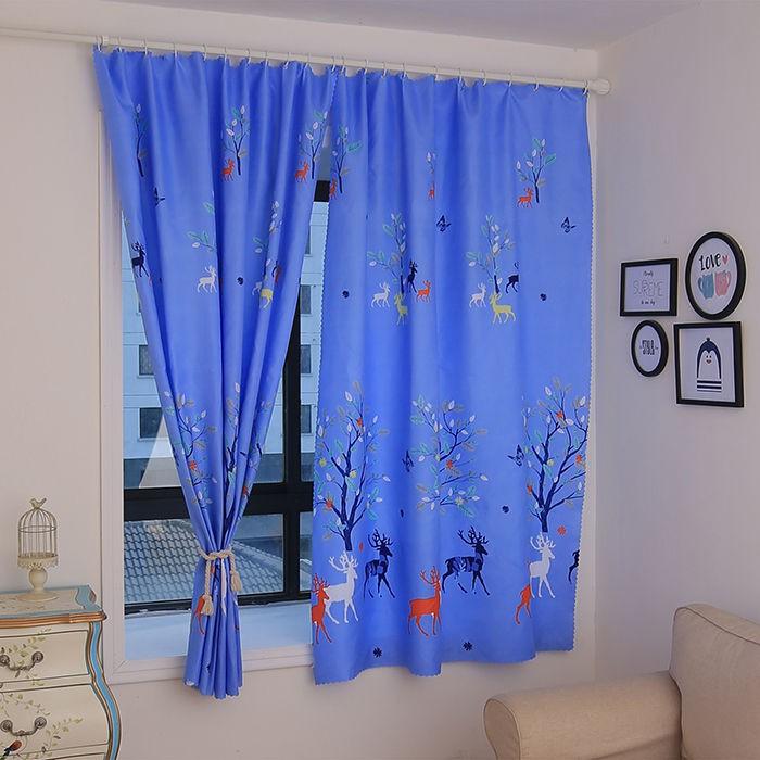 🔥Hot Sale / [เจาะฟรี] ม่านผ้าม่านผ้าม่านสำเร็จรูปผ้าม่านห้องเช่าม่านหอพักผ้าม่านระบายอากาศ