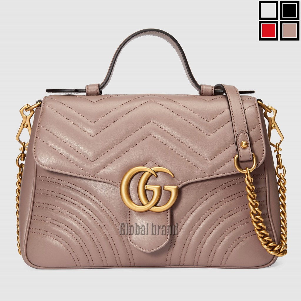 newกระเป๋าโท้ท GG Marmont ขนาดเล็ก Gucci Classic Ladies Tote รุ่น: 498110
