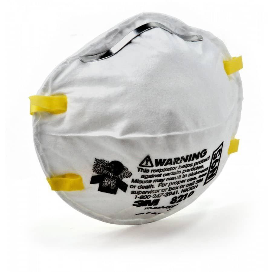 < ORIGINAL > 3M Particulate Respirator N95 Face Mask Anti Haze 8210 [1 Piece] ***READY STOCK*** Topeng Muka / หน้ากาก /