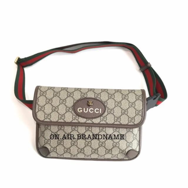 New gucci supreme belt bag รุ่นสุดฮิตของแท้ 100%