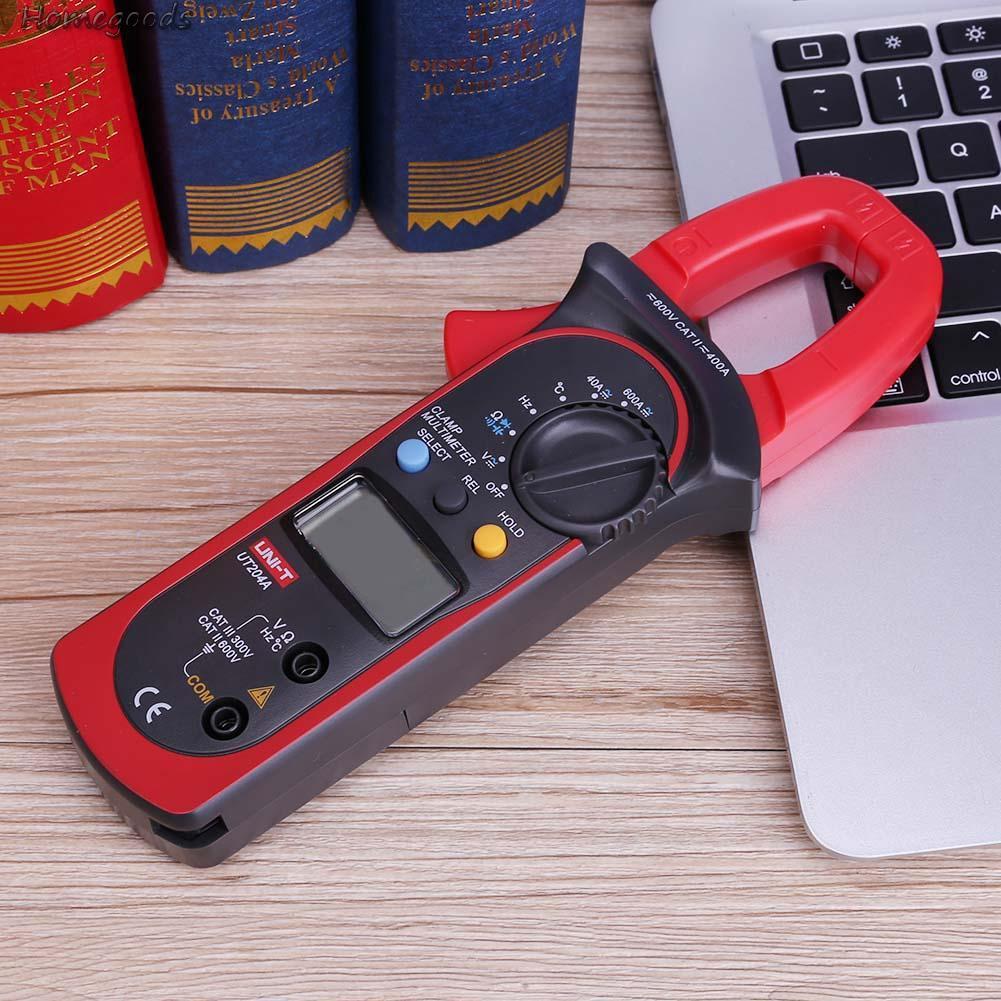 Practical❖UNI-T UT204A Digital Display Clamp Type Multimeter Current Voltage Meter✏Good