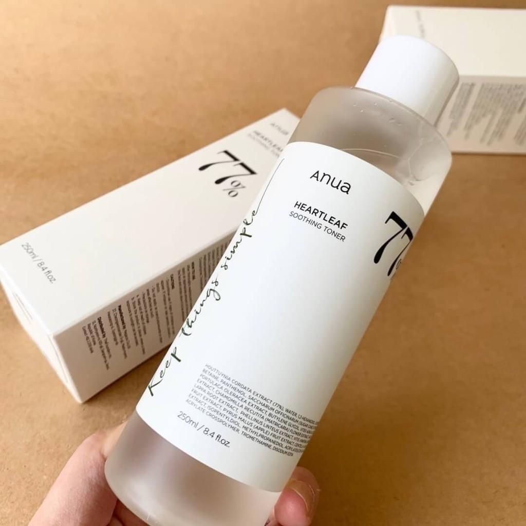Anua heartleaf 77% soothing toner ☁️ขนาด 250 ml