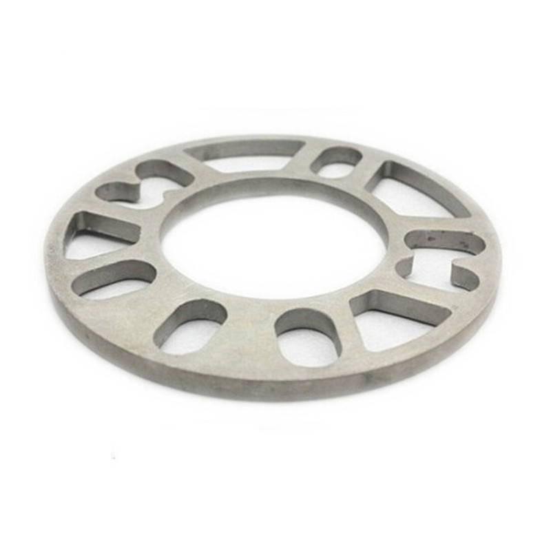 2 WHEEL SPACERS 5 LUGS 5 MM THICK UNIVERSAL FIT SPACER