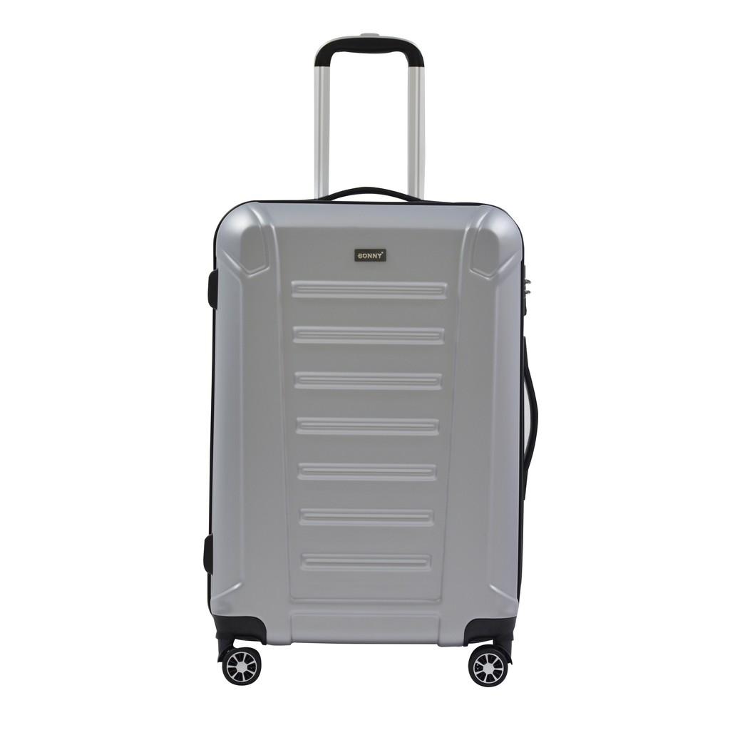 Bonny กระเป๋าเดินทาง BN522 - 24 นิ้ว สีเงิน