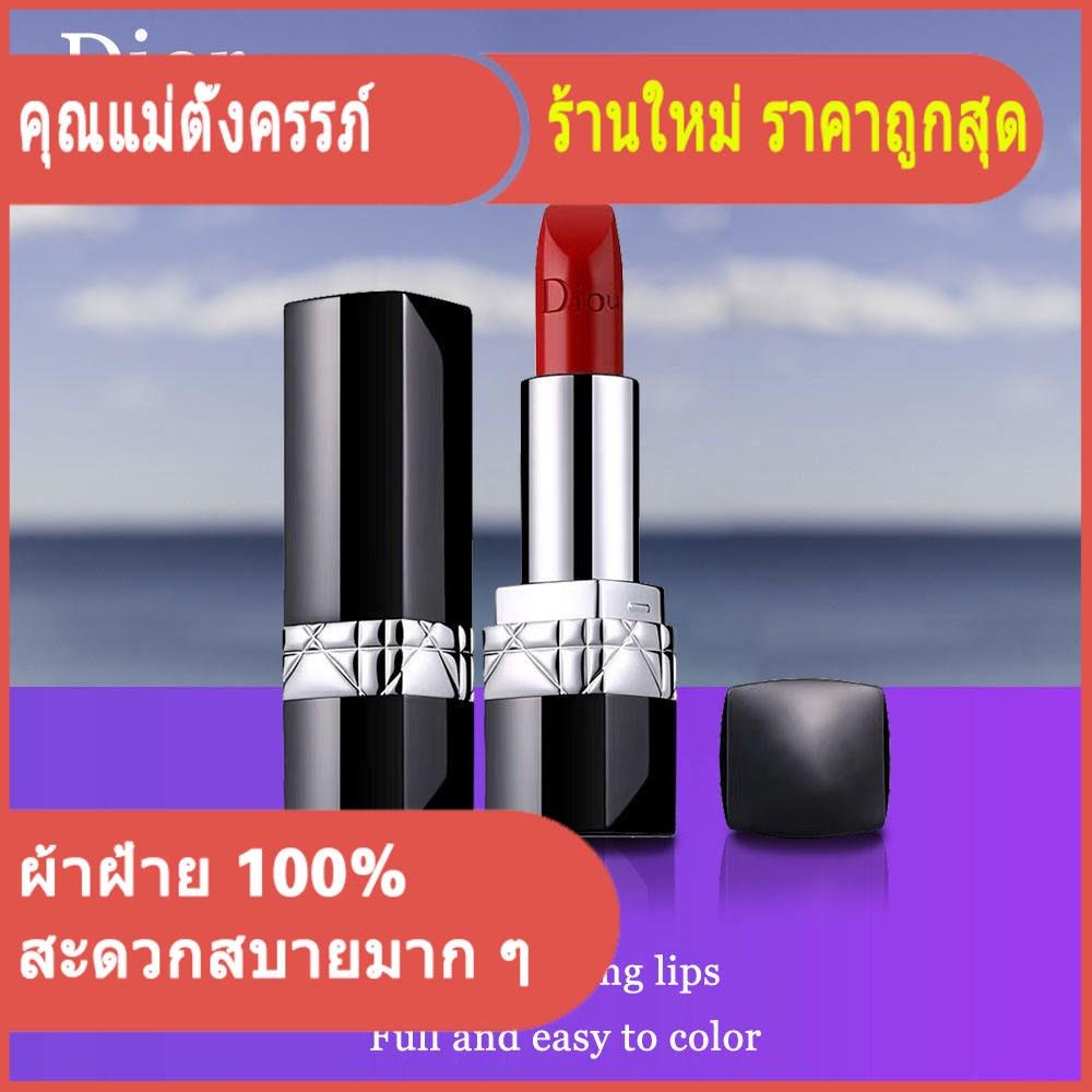 Dior lipstick 999 matte moisturizing metal classic red/ดิออร์ลิปสติก 999 แมตต์เมทัลมอยส์คลาสสิกสีแดง