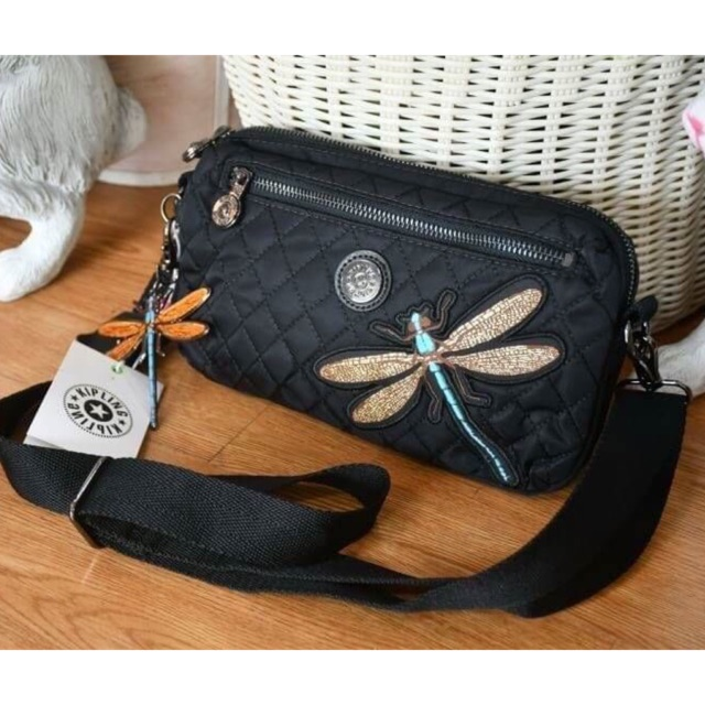 "KIPLING HALIMA CROSSBODY BAG ""DRAGONFLY"""