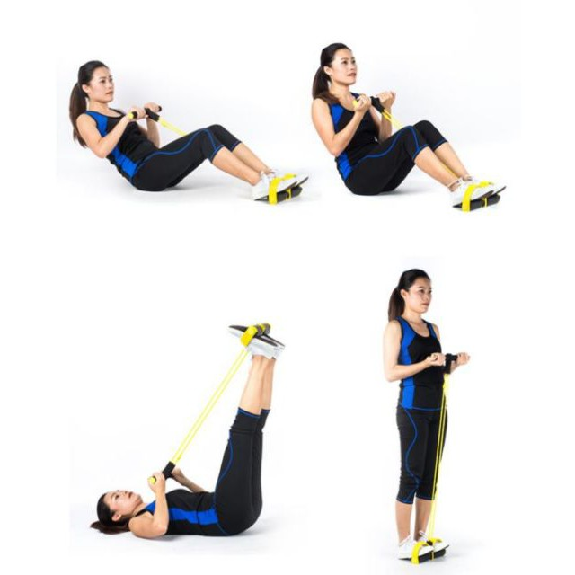ยางยืดออกกำลังกาย Body Trimmer ผ้ายืดออกกำลังกาย ยางยืดแรงต้าน  ยางยืดออกกำลังกายแรงต้านสูง