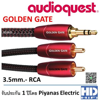AudioQuest GoldenGate 3.5mm to RCA