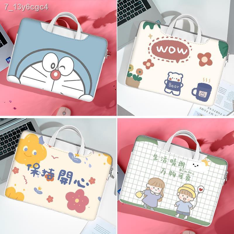 กระเป๋าคอมพิวเตอร์﹊⊙กระเป๋าเดินทางกระเป๋าแล็ปท็อปหญิงสำหรับLenovo Xiaoxin Pro13ขนาด14นิ้วกระเป๋าไลเนอร์น่ารักHuawei Hono