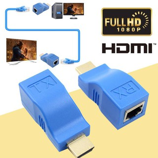 HDMI to LAN Port RJ45 Network cable Extender (4K)