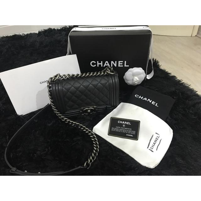 """กระเป๋า Chanel boy 8"""""""