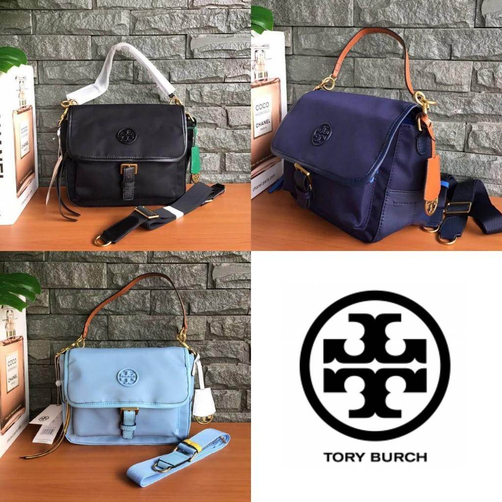 กระเป๋า TORY BURCH (outletแท้) Tory Burch Perry  Nylon Crossbody Bag