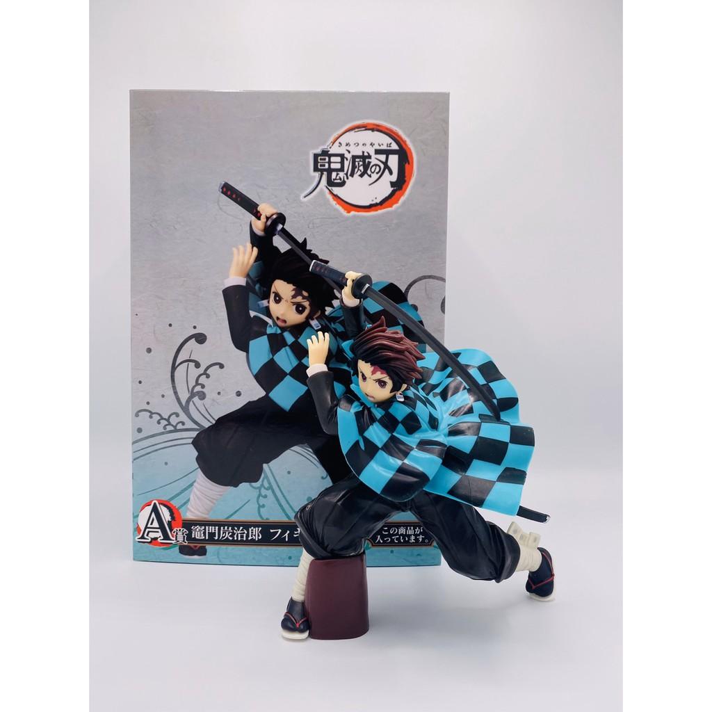 Kimetsu no Yaiba tanjiro figure model Demon Slayer toy of collector gift Japanese anime cartoon 🇨🇳